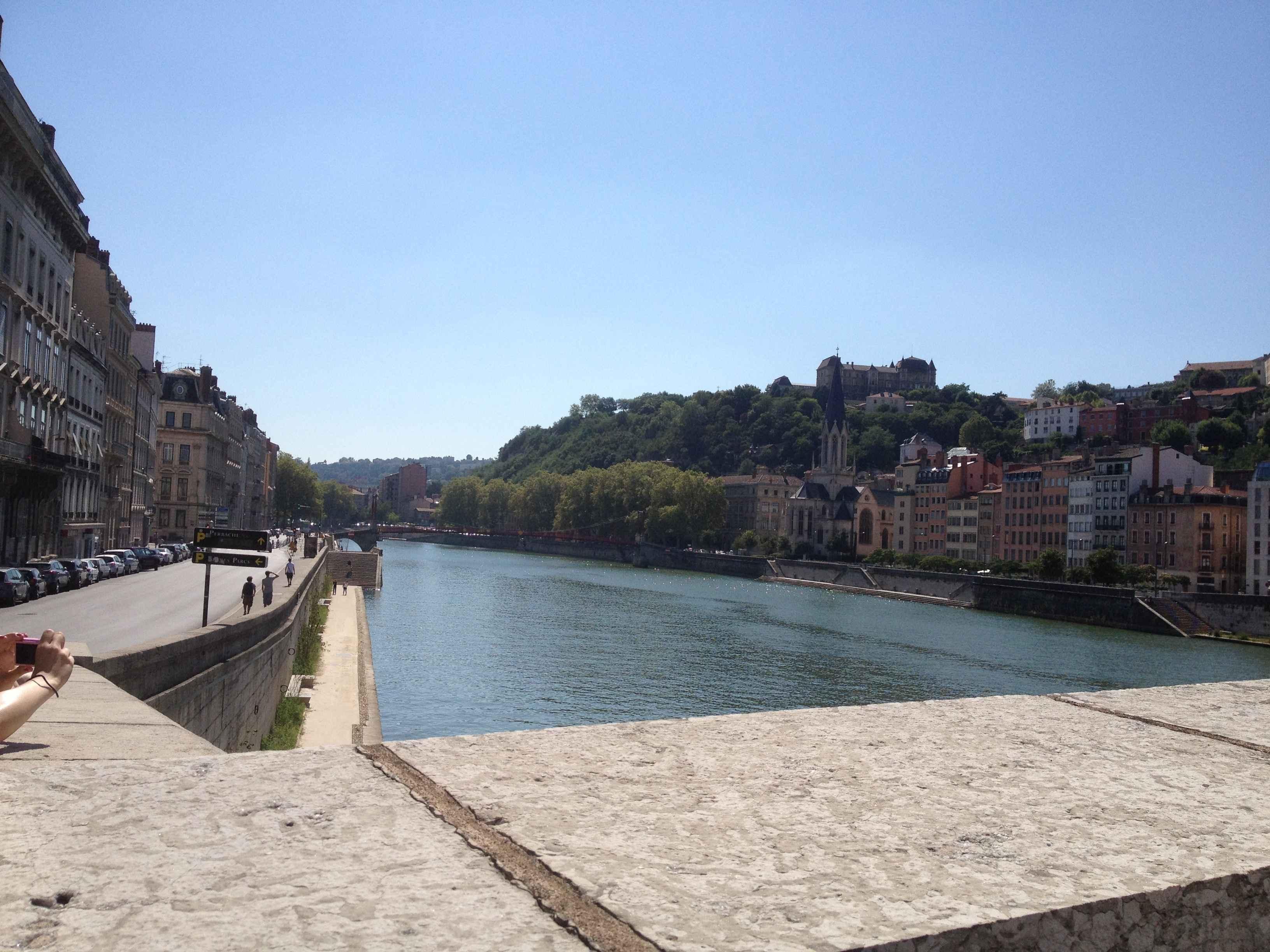 Lyon Saône River