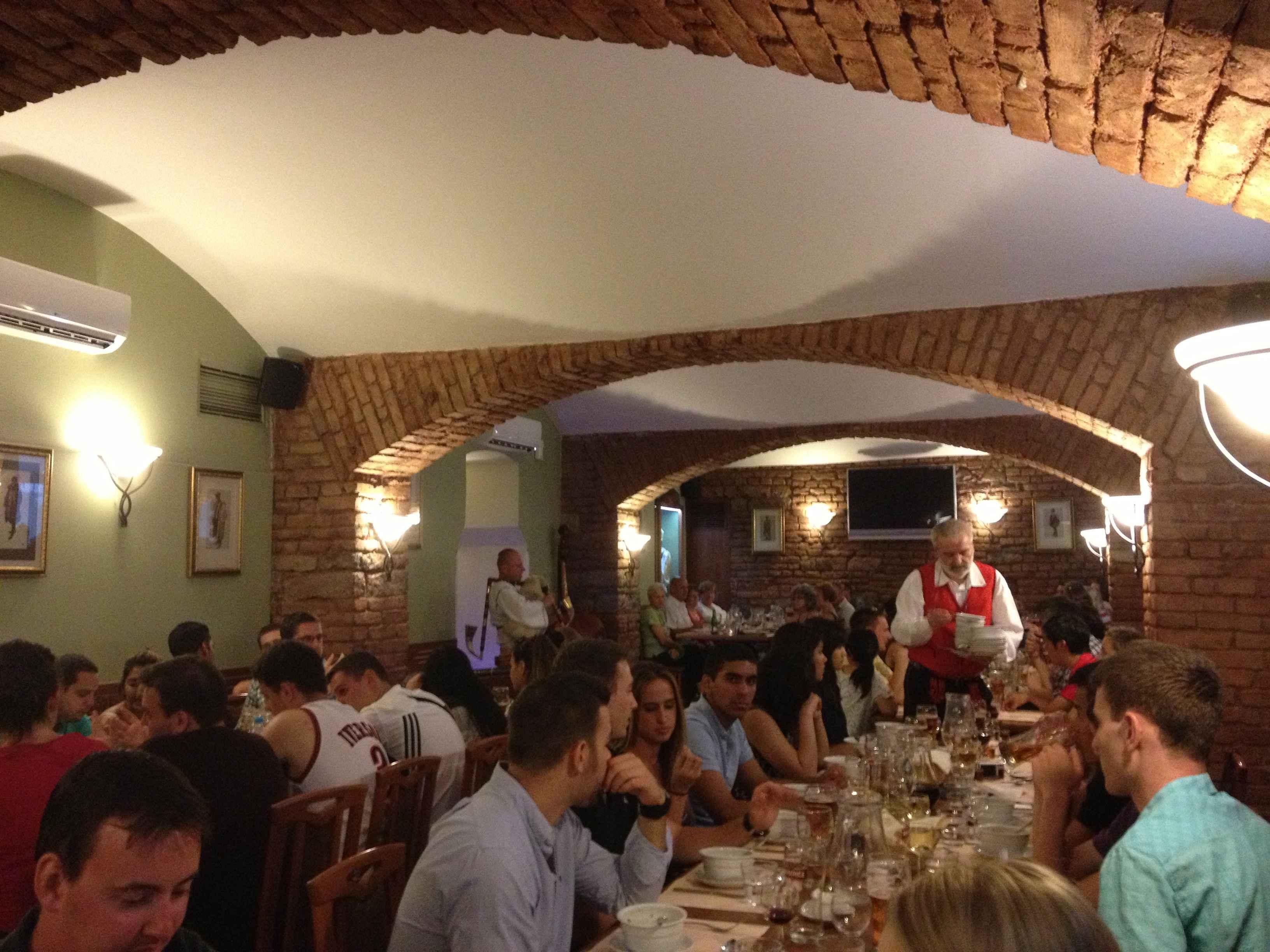 Prague Dinner