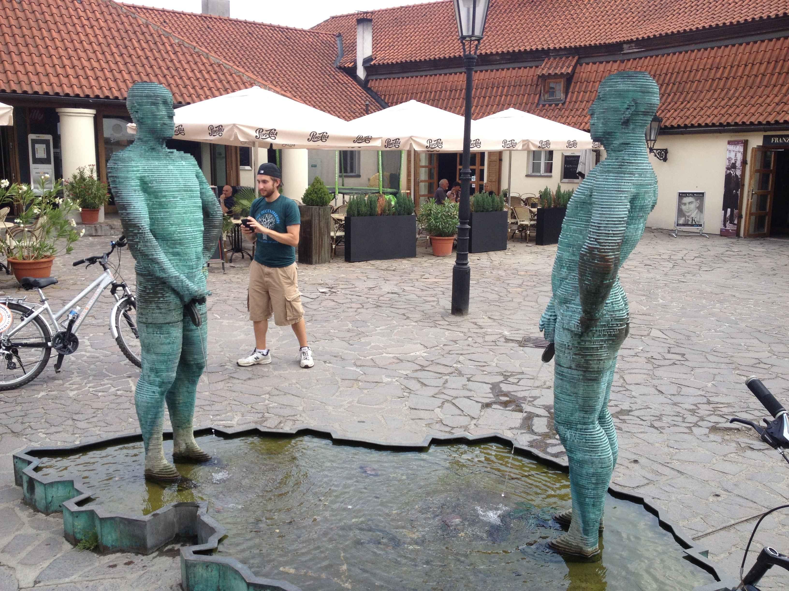 Pee Statues